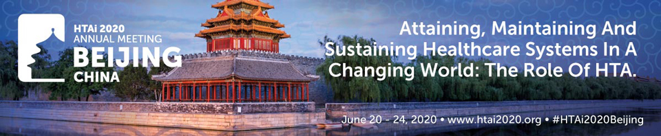 HTAi Conference 2020 Beijing (China)